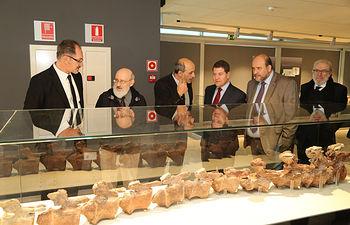 Inauguración de la tercera fase del Museo de Paleontología.