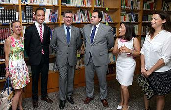 Marín visita CEPA Duque de Alba en Almansa 1. Foto: JCCM.
