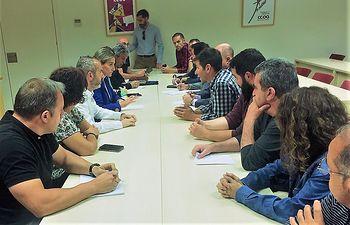 Reunión con el Comité de Empresa de ICSA.