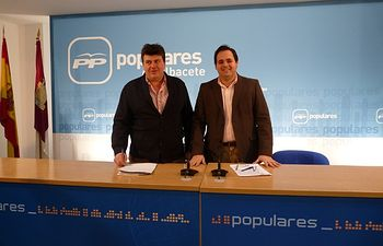 Antonio Serrano y Francisco Núñez.