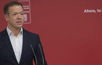 Ander Gil, portavoz PSOE en el Senado.