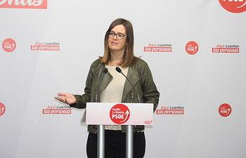 Esther Padilla, vicesecretaria del PSOE de la provincia de Toledo y número dos al Congreso.