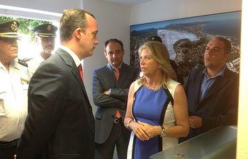 El secretario de Estado de Seguridad ha inaugurado en Marbella la oficina de Atención al Turista Extranjero (SATE). Foto: Ministerio del Interior