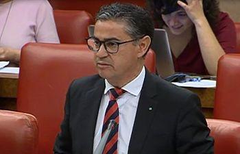 Manuel González Ramos, diputado socialista por Albacete.