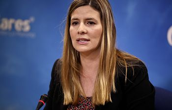 Caroina Agudo, secretaria general del PP-CLM y senadora autonómica.
