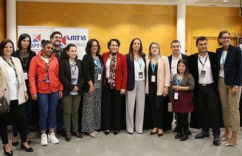 La ministra en funciones de Trabajo, Migraciones y Seguridad Social, Magdalena Valerio.