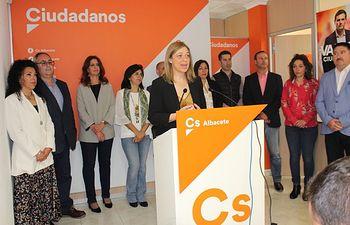 Presentación oficial de la lista de Ciudadanos a las Cortes de Castilla-La Mancha por Albacete y de los candidatos a las alcaldías de la provincia