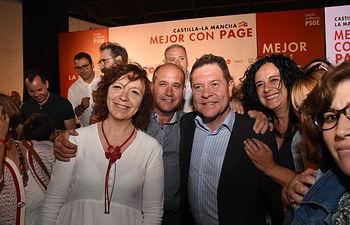Acto público en Alcázar de San Juan (Ciudad Real)