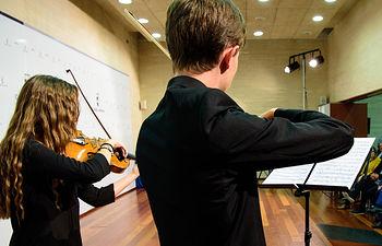 Enseñanzas Musicales. Foto: Ángel V. Rabadán (Ollé Crespo)