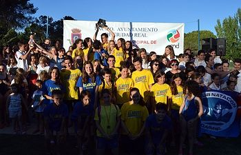 """El Club Natación """"Alarcos"""" se lleva el XXVII Trofeo """"Virgen del Prado"""""""