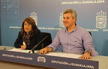 Marta Abádez y Alfonso Esteban.