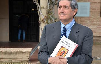 El profesor presentó su libro en el Museo del Greco, en Toledo.