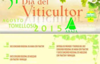 ASAJA analizará la situación actual del vino en el XXXI 'Día del Viticultor'. Foto: ASAJA CLM.
