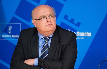 Pedro Antonio Ruiz Santos, delegado provincial de la JCCM en Albacete.