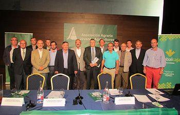 José Pérez Cuenca, reelegido Presidente de ASAJA Albacete. Foto: ASAJA CLM.