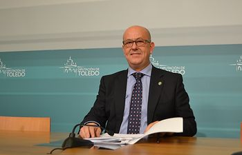 Emilio Bravo, vicepresidente de la Diputación de Toledo.