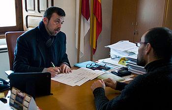 Fotografía del alcalde de Luciana