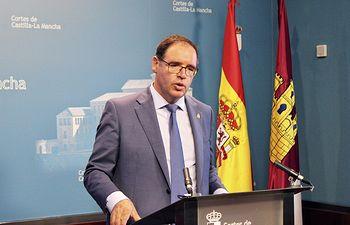 Benjamín Prieto, portavoz de Educación, Cultura y Deportes del Grupo Parlamentario Popular en las Cortes Regionales.