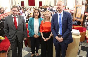 La directora general de Asuntos Europeos ha participado en un encuentro con alumnos celebrado en paraninfo de Lorenzana, Toledo.