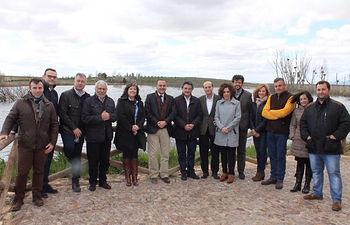 El delegado del Gobierno en Castilla-La Mancha, José Julián Gregorio, ha visitado el Parque Nacional de las Tablas de Daimiel (Ciudad Real) con motivo de la celebración del Día Mundial del Agua.