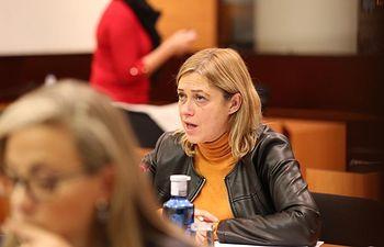 Carmen Picazo, portavoz de Ciudadanos en las Cortes de Castilla-La Mancha.