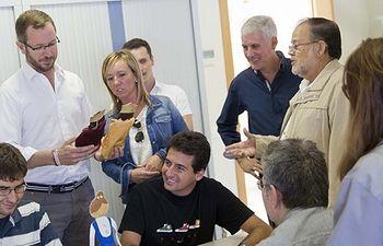 Javier Maroto visita el centro especial de trabajo de la Torxa (Lleida)