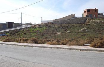 Imagen de la parcela en la que el Gobierno regional va a construir el nuevo Centro de Salud de la localidad albaceteña de Ontur.