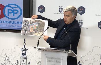 Pedro Martín, concejal del Grupo Municipal Popular del Ayuntamiento de Ciudad Real.