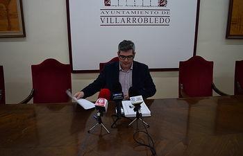 Juan Luis Iñiguez, concejal de Hacienda del Ayuntamiento de Villarrobledo.