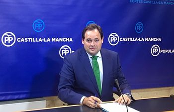 Paco Núñez en rueda de prensa.