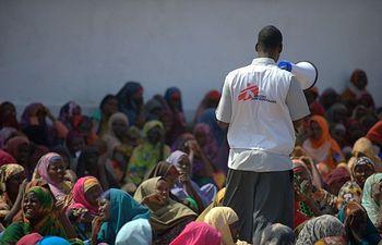 Foto de Médicos Sin Fronteras - Somalia, septiembre de 2011. © Yann Libessart / MSF