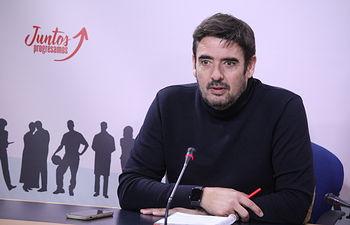 Rafa Esteban, presidente del Grupo Parlamentario Socialista.