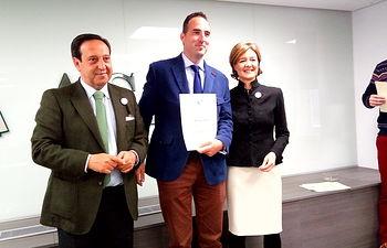 """Higinio Gutiérrez Ramírez ha ganado el primer premio en la categoría de """"Joven Agricultor Emprendedor"""""""