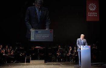 Entrega Premios Patrimonio 2016. Foto: Ministerio de Educación, Cultura y Deporte.