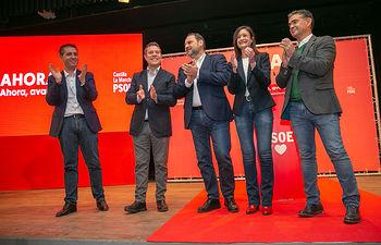Acto de campaña del secretario general del PSOE de Castilla-La Mancha y presidente regional, Emiliano García-Page. Foto: A.Perez Herrera