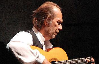 Paco de Lucía (1947-2014).