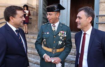 El alcalde agradece a la Guardia Civil la labor impecable que realiza los 365 días del año para que Albacete siga siendo una de las ciudades más seguras de España