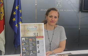 María Teresa García, concejal de Cultura.