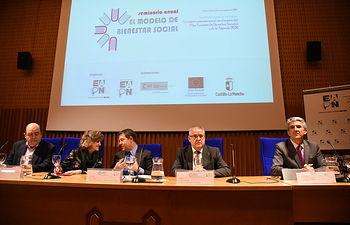 Inauguración de el seminario anual de la Red Europea de Lucha contra la Pobreza y la Exclusión Social en el Estado Español. Foto: Jose Ramon Marquez//JCCMM