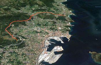Abastecimiento Marín, Pontevedra. Foto: Ministerio de Agricultura, Alimentación y Medio Ambiente