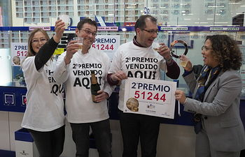 Segundo Premio Lotería Navidad 2017