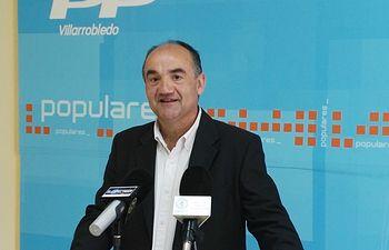 Valentín Bueno, presidente PP Villarrobledo.