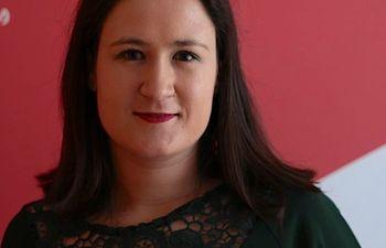 Virginia Lozano, secretaria General Juventudes Socialistas Albacete.