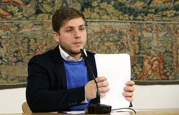 Nacho Hernando informa sobre los acuerdos del Consejo de Gobierno III. Foto: JCCM.