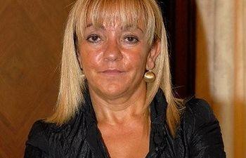 Isabel Carrasco, presidenta de la Diputación de León
