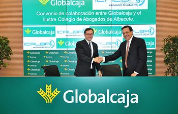 Convenio de colaboración entre globalcaja y el Colegio de Abogados de Albacete