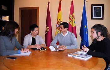 Reunión con la Asociación de Parkinson Albacete