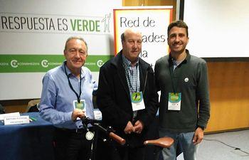 Juan Antonio Ruiz, Primer Teniente de Alcalde, en la Asamblea General de Ciudades por la Bicicleta, el pasado 1 de diciembre.