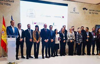 Alberto González ha asistido en FITUR a la presentación de la 'Ruta del Vino de La Mancha'