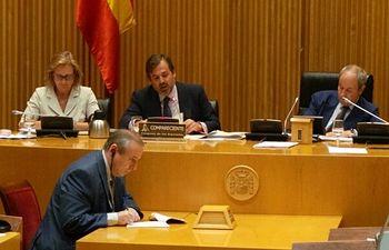 Ramos comparecencia Presupuestos. Foto: Ministerio de Agricultura, Alimentación y Medio Ambiente